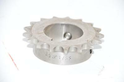 """NEW Martin Sprocket & Gear 40L17SS Stainless Steel 1-7/16"""" Bore"""