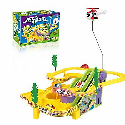 Track Racer Racing Cars Toy for Kids with sound (FAST FREE DISPATCH) UK SELLER