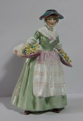 ROYAL DOULTON Figurine  DAFFY DOWN DILLY  HN 1712     8 inches tall