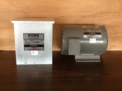 Rock Rotary Transformer And Capacitor Control Panel Model 92 Root-Con Mark II