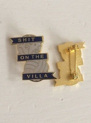 Birmingham City Supporter Enamel Badge - Classic Crest Design - Wear With Pride!