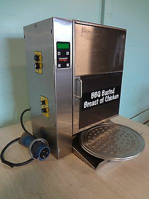"H.d. ""frymaster"" S.s. Counter Top Bbq Basted Chicken Breast Vertical Grill"