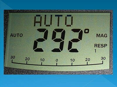 LCD Replacement for ST4000+, ST5000+ Raymarine, Autohelm, Display, W/ New Conn.