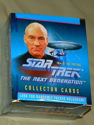 Lot of 4 PACKS 1992 Star Trek The Next Generation Impel Trading Cards