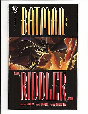 BATMAN: RUN RIDDLE RUN # 1 (DC Comics Prestige Format, 1992) NM/M