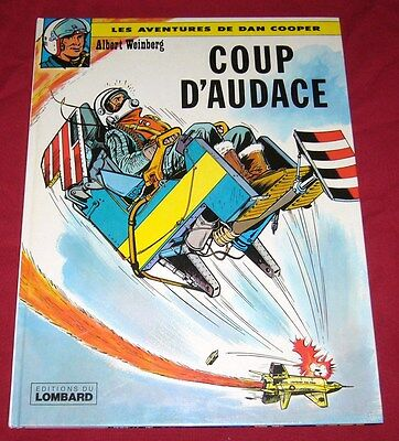 DAN COOPER - COUP D'AUDACE - WEINBERG - LOMBARD - TBE - Ref 00126