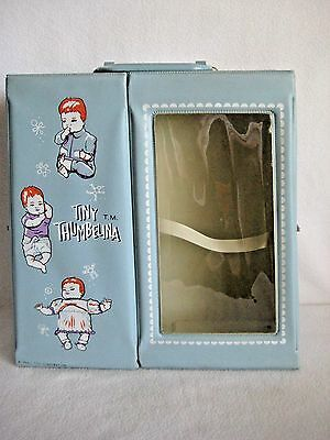 Vintage Ideal Tiny Thumbelina Doll Carrying Case 1960s
