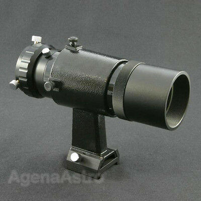 Agena 50mm Finder / Mini Guide Scope with Helical Focuser for CCD Autoguiding