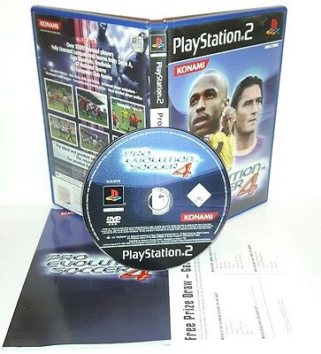 PRO EVOLUTION SOCCER 4 2004 PES 04 - Playstation 2 Ps2 Play Station Gioco Game