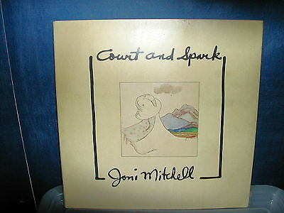 Joni Mitchell-Court and spark LP 1974