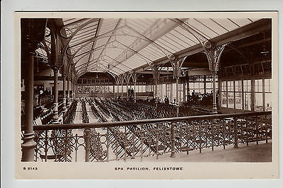Suffolk: Spa Pavilion, Felixstowe - Interior, Orchestra. W.H. Smith RP PC (1800)