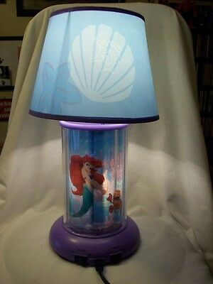 Ariel Little Mermaid Revolving Lamp Kng America