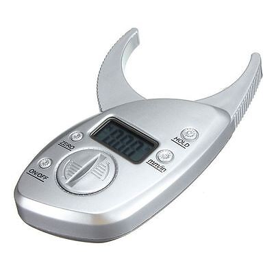 50mm Digital LCD Body Fat Caliper Skin Fold Analyzer Measurement