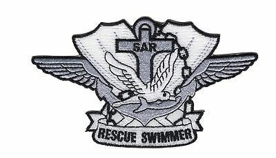 SAR Search And Rescue Corpsman EMT Air Ambulance Patch Color