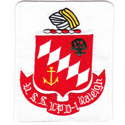 LPD-1 USS Raleigh Patch