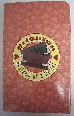 "Brighton ANATOMY OF A WALLET Promo Marketing Display RARE  7 1/2"" x 12"" *"