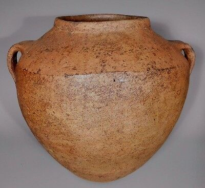 Monumental Holy Land Iron Age Pottery Vessel Bowl ca. 550-1200 BC
