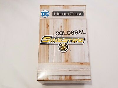 Dc Heroclix Colossal Sinestro Convention Exclusive 2017