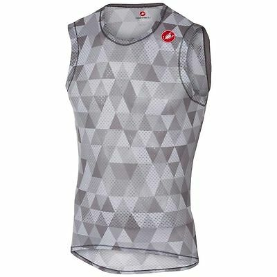 VEST CASTELLI PRO MESH SLEEVELESS colour grey
