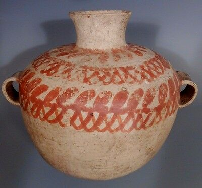 RARE Mediterranean Sicily ? Middle Eastern Pottery Vessel Bowl ca. 550-1200 BC