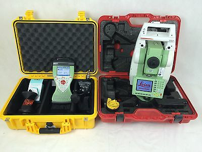 Leica TCRP1203+ R1000, Leica CS15 Viva SmartWorx, 3″ Robotic Kit, Reconditioned