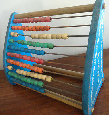 Vintage Wood FISHER PRICE ABACUS