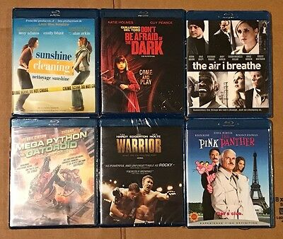 WHOLESALE LOT of 90 BRAND NEW SEALED Blu-Ray Movies (6 unique titles x 15 each)