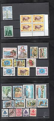 Liban Lot de timbres divers