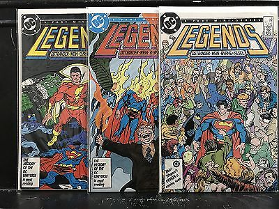 Lot of 3 Legends #2 4 5 (1986 DC) Ostrander - Combined Shipping Deal!
