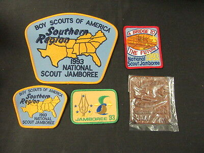 1993 National Jamboree Patches and Southern & Southeast Region Patches    eb13