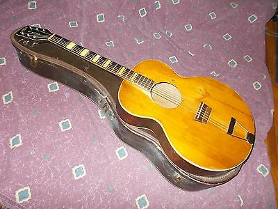 Circa 1950 Gretsch Synchromatic Sierra jumbo acoustic modded and Spirit-infused