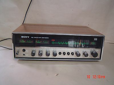 Sony SQR-6650  Four Channel Vintage Receiver