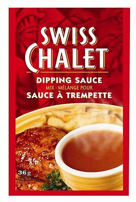 Swiss Chalet Dipping Sauce Bulk Discount [12 packets x 36g] From Canada!