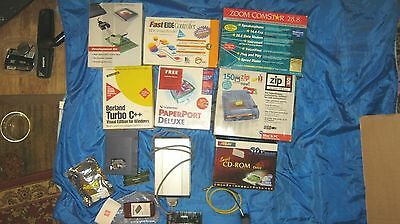 Vintage Computor Software And  Odd And Ends All Boxes Never Been Used