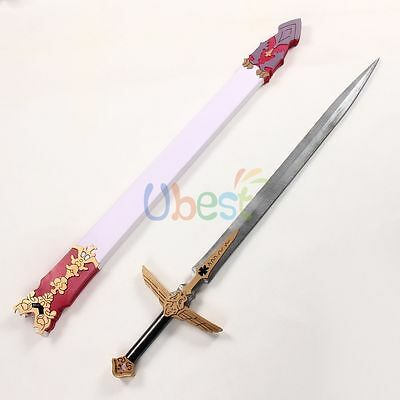 Fate Apocrypha Astolfo Sword with Sheath Cosplay Prop