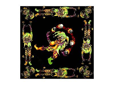 Juggling Jester Bandana - 550mm x 550mm - Brand New