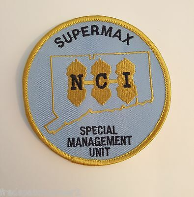Connecticut State Corrections Supermax Prison NCI Correctional Institution Patch
