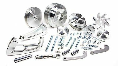MARCH PERFORMANCE Aluminum Big Block Chevy Serpentine Ultra Pulley Kit P/N 23050