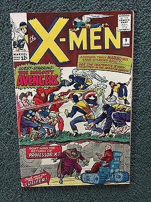 Marvel Comics X Men # 9 1965  VF-