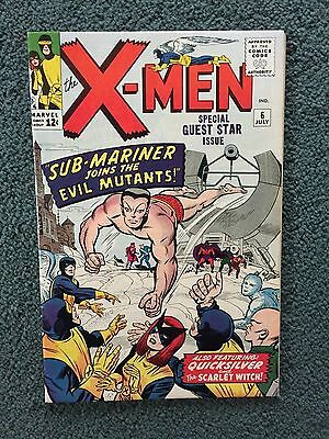 Marvel Comics X Men # 6 1964 VF-