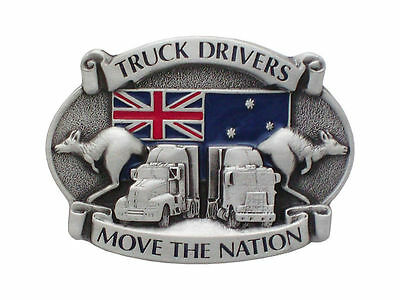 Truck Drivers Move The Nation Belt Buckle Brand New