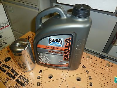 Oil And Filter Kit  For Harley-Davidson Big Twin 1991- 1999 Long Chrome Filter