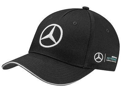 Mercedes 2017 Season F1 Team Black Amg Petronas Cap B67995299