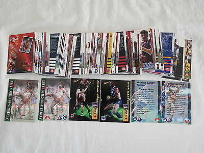 1995 186 Cards Aflpa Set Afl Football Aussie Rules Dynamic Collingwood Eagles