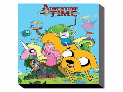 Adventure Time - Treehouse (60cm x 80cm) Wall Art Canvas - Brand New
