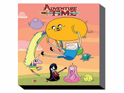 Adventure Time - Sunset (60cm x 80cm) Wall Art Canvas - Brand New