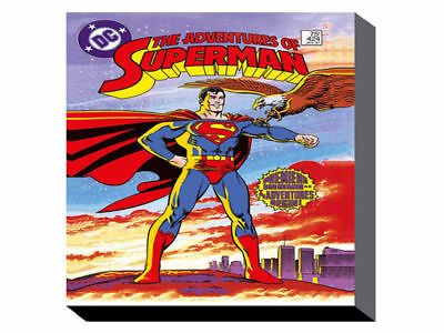 Superman Premiere (60cm x 80cm) Wall Art Canvas - Brand New