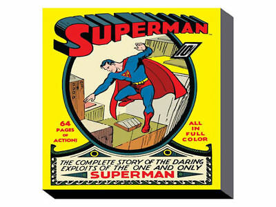 Superman No.1 (60cm x 80cm) Wall Art Canvas - Brand New