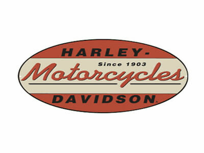 Harley Davidson 1903 Oval Die Cut Embossed Tin Sign Brand New