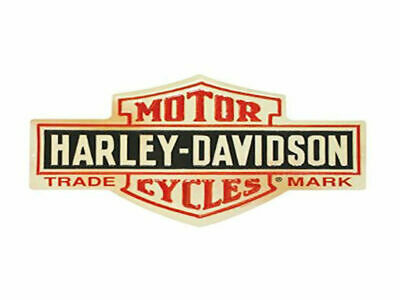 Harley Davidson Bar & Shield Die Cut Embossed Tin Sign Brand New